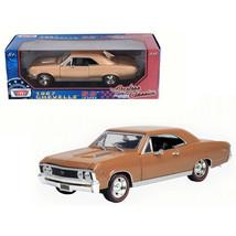 1967 Chevrolet Chevelle SS 396 Golden Brown Timeless Classics 1/18 Dieca... - $49.34