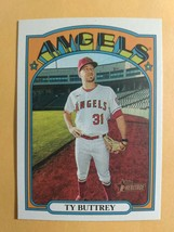 TOPPS HERITAGE 2021 CARD #4 TY BUTTREY - $0.99