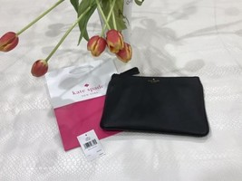 NEW Kate Spade Clutch Gia Chester Street Pebbled Leather Black WLRU2736 - $49.99