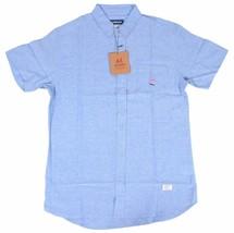 Akomplice Akman Short Sleeve Button-UP Men's Shirt NWT image 1
