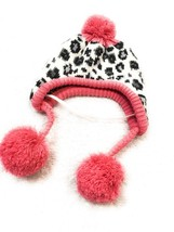 Dog Fashion Hat Size M/L Pet Puppy Apparel Pink With Leopard Pattern - $8.33