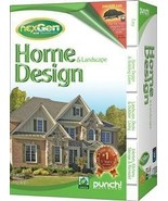 PUNCH! HOME AND LANDSCAPE DESIGN WITH NEXGEN TECHNOLOGY V2 SB (SOFTWARE ... - $49.97