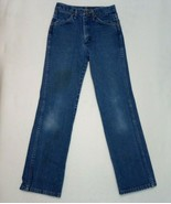 Wrangler Straight Jeans Blue work pants 28X30 see template for sizes  - $11.35