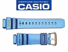 Genuine CASIO  Gulfman Triple Crown Blue Watch Band Strap G-9100TC-2 21mm  - $40.18