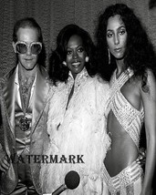 Sir Elton John Diana Ross & Cher Studio 54 New York City 8 X 10 Photo Fr... - $9.99