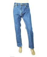 NEW MENS LEVIS LEVI STRAUSS 505 REGULAR FIT BLUE LIGHT WASH JEANS 40 x 30 - $36.99