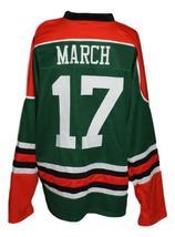 Custom Name # Ireland Irish Pride March 17 Hockey Jersey New Green Any Size image 5