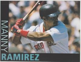 Boston Red Sox Manny Ramirez At Bat 2001 Pinup Photo 8x10 - $1.99