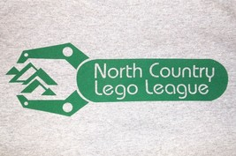 Lego T Shirt XL NEW Mens Gray Green North Country League Extra Large - $17.99