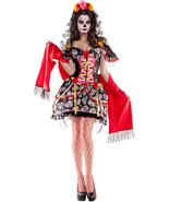 Party King La Catrina Day Dead Body Shaper Dress Costume PK365 ~ Also Pl... - $102.99