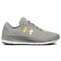Under Armour Remix Women's Training Shoe Size 10 Colors Gray, White & Gold - $65.44