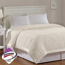 Year Round Ivory Microfiber Down Alternative Blanket w/3M Scotchgard - A... - $1.095,21 MXN+