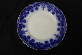 """Vintage Johnson Brothers Flow Blue """"STANLEY"""" Pattern 8"""" Salad or Luncheo... - $29.99"""