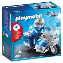 Playmobil City Action Police Bike / Motorcyle with LED Light - # 6923 - $24.49