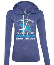 I'd Grow Up To Be A Cute Hockey Mom T Shirt, My Favorite T Shirt, I Never Dreame - $37.99+
