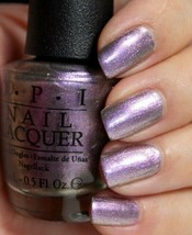 OPI Brazil NEXT STOP...THE BIKINI ZONE Purple Duochrome Nail Polish Lacq... - $9.39