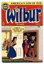 Wilbur #33 1950-Archie Comics-Headlight cover-Katy Keene- FN/VF - $157.63
