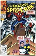 Amazing SPIDER-MAN #356 1991-MARVEL COMICS-PUNISHER VF/NM - $18.62
