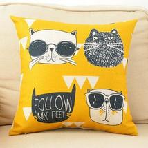 lovely cartooncouch pillow - $8.00