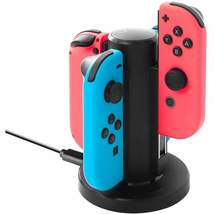 Gaming Instep Joy Con Charger For Nintendo Switch 4 In 1 Joy-Con Charging Dock S - $62.41