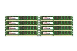MemoryMasters 64GB (16x4GB) DDR3-1600MHz PC3-12800 ECC RDIMM 2Rx8 1.5V Registere - $375.21