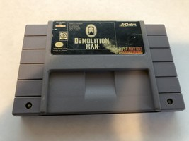 Demolition Man - Super Nintendo SNES - Cleaned & Tested - $11.16