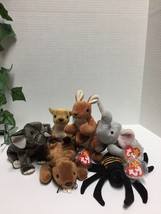 Beanie Babies Lot of Six 6 3rd, 4th, 5th, 7th Generations - $14.95