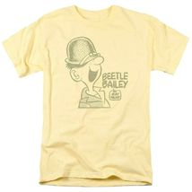Bettle Bailey T-shirt retro comic strip cartoon yellow cotton graphic te... - $19.99+