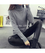 Hot 2016 Autumn Winter Women Sweaters and Pullovers Fashion turtleneck S... - $23.98+