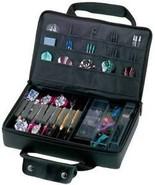 Casemaster Pro Black Injected Molded Hard Dart Case for darts flights sh... - $37.99
