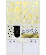 Kate Spade Planner Companion Set Bookmarks Washi Tape Sticky Notes New S... - $20.00