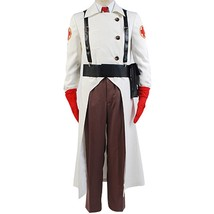 Team Fortress 2 Medic Cosplay Costume Halloween Uniform - $116.96