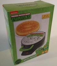 "NEW Teenage Mutant Ninja Turtles 7"" Round Waffle Iron Maker Non-Stick TMNT  - $24.67"