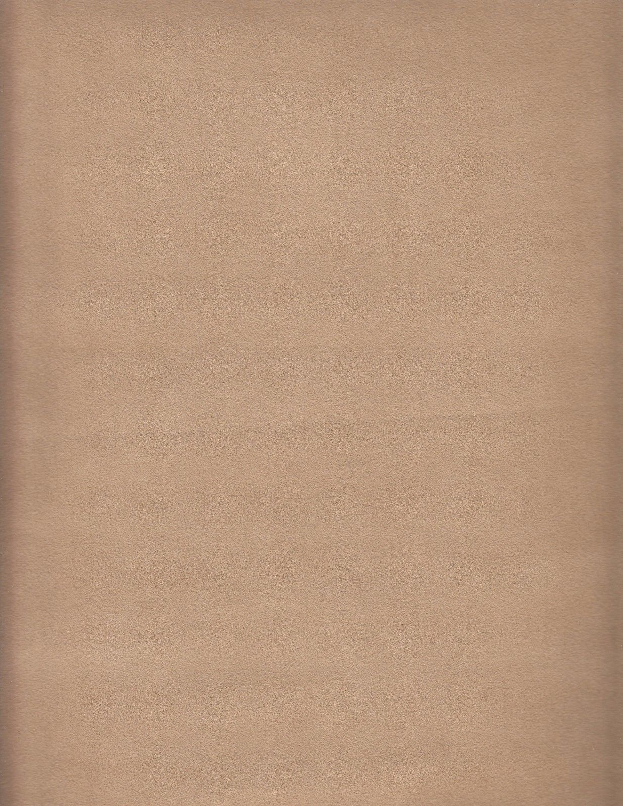 Toray Ambiance Ultrasuede New Saddle Tan Upholstery Fabric 1.125 yds EJ