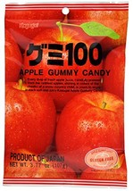 Kasugai Apple Gummy Candy 3.77oz (3 Pack) - $11.64