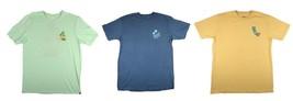 Hurley Hobie Men's T-Shirt Short Sleeve Crew Neck Tee Shirt Licensed NEW