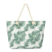 Leaf printed tote bag  - $39.95