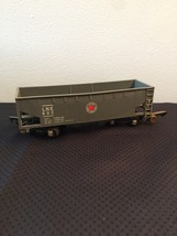 American Flyer Railroad Car #632 - LNE (Lehigh New England) grey hopper car image 2