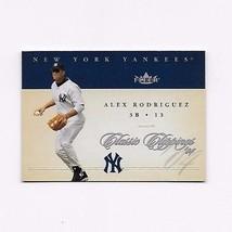2004 FLEER CLASSIC CLIPPINGS  YANKEES ALEX RODRIGUEZ #5 - $0.99