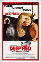 DEEP RED (1975) - Classic Horror B-Movie - Buy 2 DVD's, Get 1 FREE - $7.49