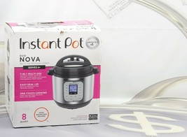 Instant Pot Duo Nova 8 Quart 7-in-1 One-Touch Multi-Cooker Stainless Ste... - $79.19