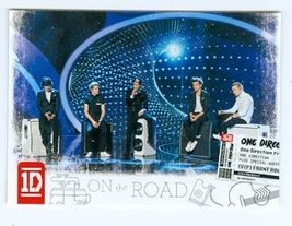 One Direction trading card (One Direction 1D) 2013 Panini On the Road #13 - $4.00