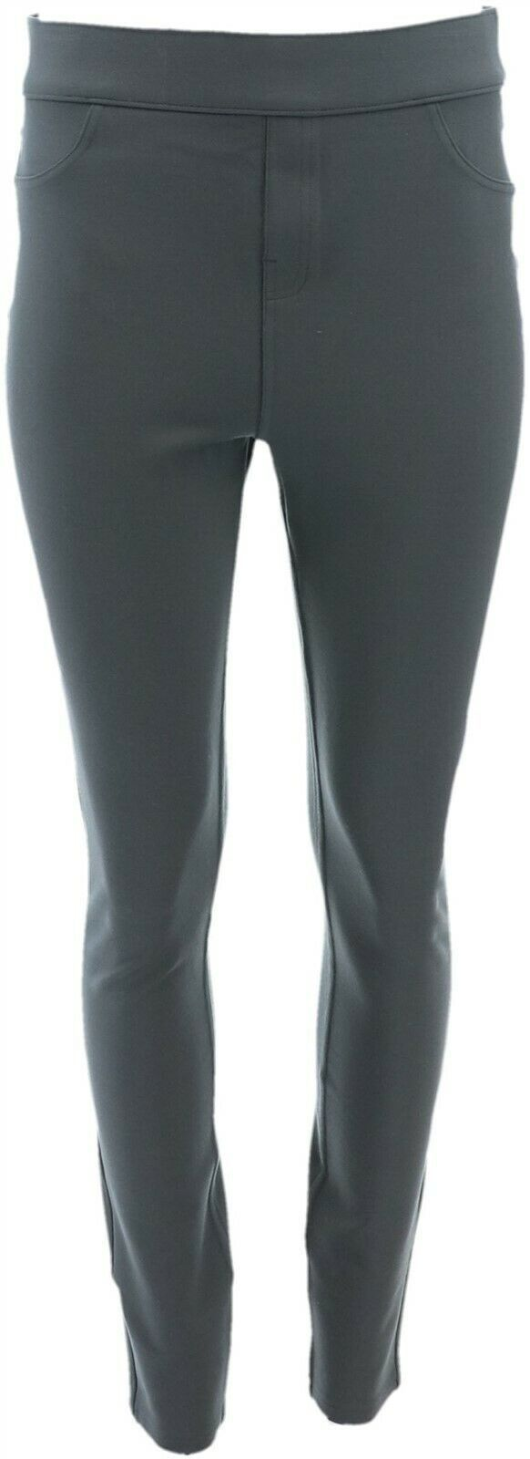 Primary image for Spanx Ponte Ankle-Length Leggings Tall Pepper Grey L NEW A309031