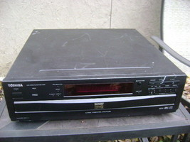 Toshiba 6 Disc DVD Video Player Carousel CD Changer Digital SD-4109X w/r... - $28.03