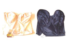 Playtex Strapless Bra in Ivory/Black Sizes 36/38C, 36/38D, 38/40D, 36/38DD - $34.20