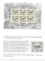 Usps Inverted Curtis Jenny Biplane Stamps New Frm 2013 & In Usps Unsealed Pkg Nh - $14.95