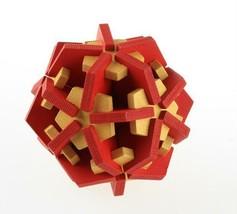 Brain Puzzle Teaser Metal Cast Hanayama Level Magic Cube Game Toy Gift 6... - $9.46