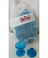 Spoolies Hair Curlers, Heatless Silicone RollersMade in USA, 22 Jumbo BLUE - $19.79