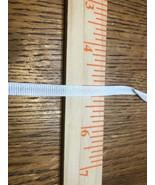 """White 1/4"""" Soft Ribbon Tape (Non-Elastic) for Face Mask Straps, Inner Ga... - $0.50"""