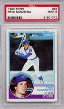 1983 Topps Ryne Sandberg Rookie Chicago Cubs #83 PSA 9 MINT (Graded Baseball Car - $74.99